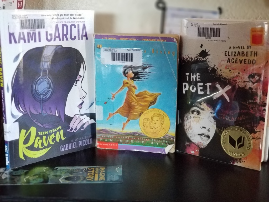 These were my Latinx reads for Hispanic Heritage Month.